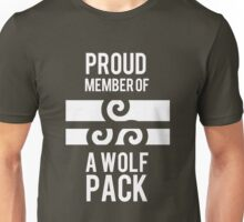 PROUD MEMBER OF A WOLF'S PACK Unisex T-Shirt