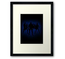 Blueklok Framed Print