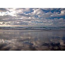 San Vicente de la Barquera Beach Photographic Print