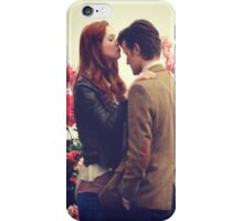 amy and the doctor  iPhone Case/Skin