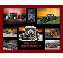 Rat Rod Collection I Photographic Print
