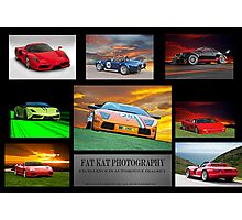 Sports Car Collection I Photographic Print