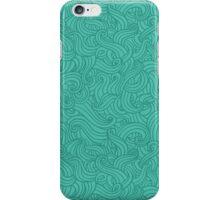 blue waves iPhone Case/Skin
