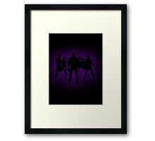 PurpleKlok Framed Print
