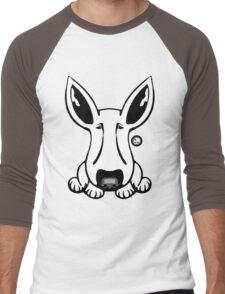 EBT Big Ear Dog  Men's Baseball ¾ T-Shirt
