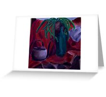 Red still life Greeting Card