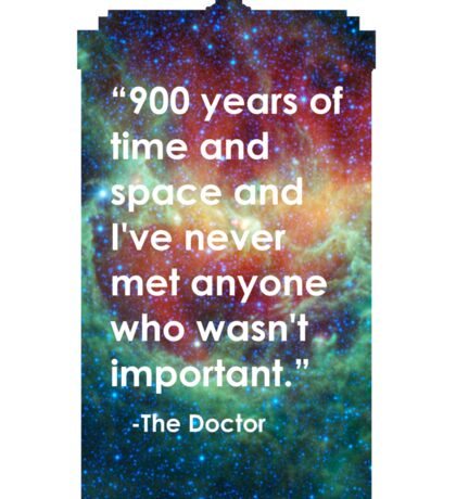 Doctor Who - 900 Years Sticker
