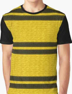 Knitted Scarf - Hufflepuff Graphic T-Shirt