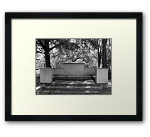 Slumbering Seats Artistic Photograph by Shannon Sears Framed Print