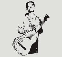 Woody Guthrie This Machine Kills Fascists by rbrayzer