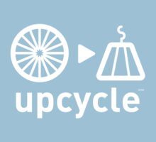 upcycle bicycle spokes  / white by glbrt