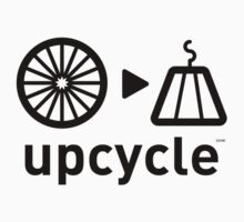 upcycle bicycle spokes  / black by glbrt
