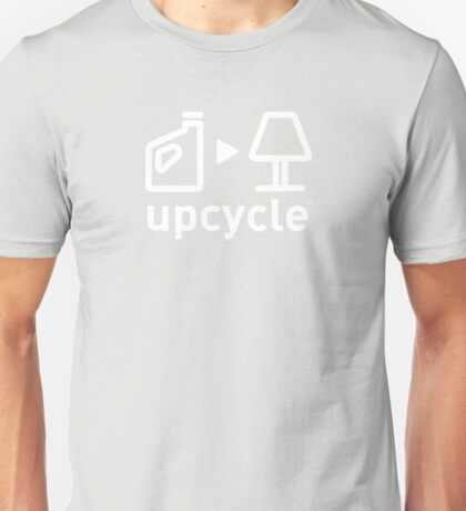 upcycle plastic cartons / white Unisex T-Shirt