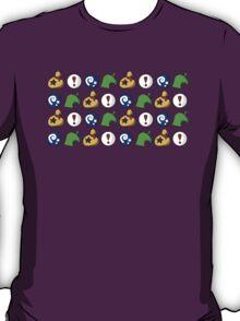 Animal Crossing Items 3 T-Shirt