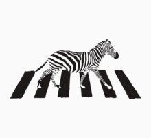 Zebra Crossing by frowningmonkey
