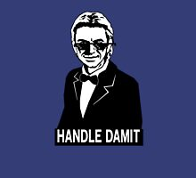 HANDLE DAMIT! - Deal With It! Womens Fitted T-Shirt