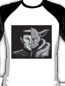 Trek Wars - B & W T-Shirt