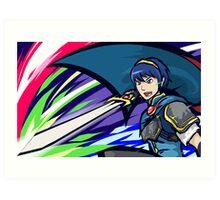 Marth | Dancing Blade Art Print