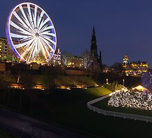Edinburgh Christmas Market 2013 by Miles Gray