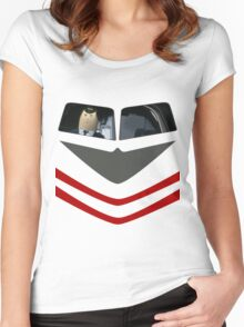 Otto Pilot - Airplane! Women's Fitted Scoop T-Shirt