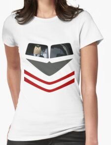 Otto Pilot - Airplane! Womens Fitted T-Shirt
