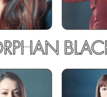 Orphan Black - Just one, I'm a few. No family too, who am I Sticker