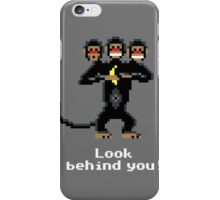 Three-Headed Monkey V2 iPhone Case/Skin