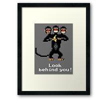 Three-Headed Monkey V2 Framed Print