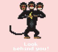 Three-Headed Monkey V2 Kids Tee