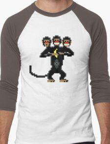 Three-Headed Monkey V2 Men's Baseball ¾ T-Shirt