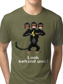 Three-Headed Monkey V2 Tri-blend T-Shirt