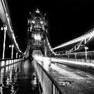 Tower Bridge London in Mono by Ian Hufton