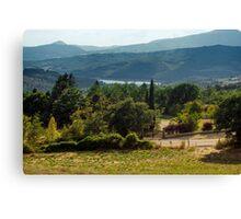 Arezzo, Tuscany (near Castelnuovo) #003 Canvas Print