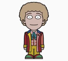 The Sixth Doctor (sticker) by redscharlach