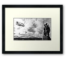Remember the Mountains Framed Print