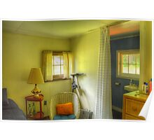 Cottage Bedroom No. 1 Poster