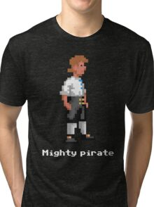 Mighty Pirate V2 Tri-blend T-Shirt