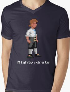 Mighty Pirate V2 Mens V-Neck T-Shirt