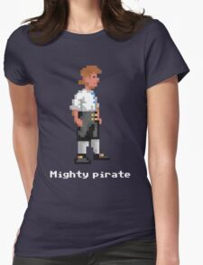 Mighty Pirate V2 Womens Fitted T-Shirt