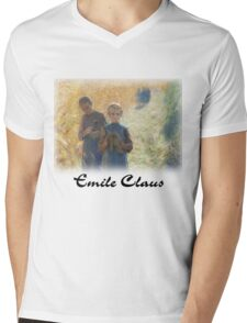 Emile Claus - Country Life Mens V-Neck T-Shirt