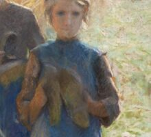 Emile Claus - Country Life Sticker