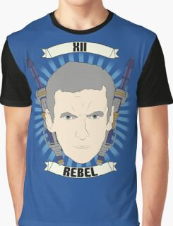 Doctor Who Portraits - Twelfth Doctor - Rebel Graphic T-Shirt