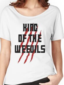 King of The Weevils - Torchwood Women's Relaxed Fit T-Shirt