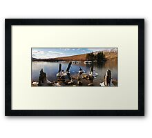 Loch Ossian Framed Print