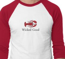Wicked Good Men's Baseball ¾ T-Shirt