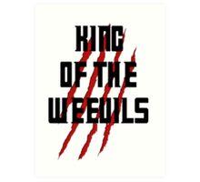 King of The Weevils (Print) - Torchwood Art Print