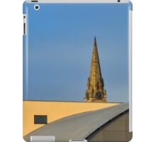 Elgin's architecture contrast at College. iPad Case/Skin