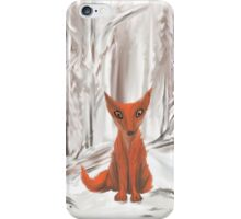 Fox in the Snow iPhone Case/Skin