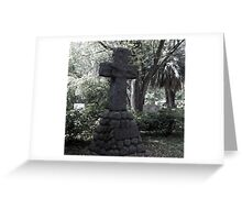 Crucifix Rocks Artistic Photograph by Shannon Sears Greeting Card