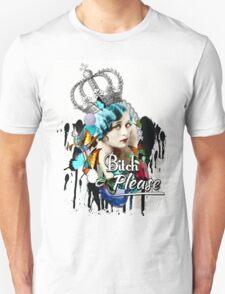 Fancy Vintage 'Bitch Please'  Unisex T-Shirt